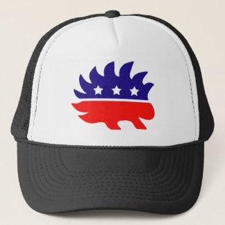 Liberty porcupine trucker hat