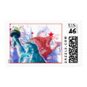 Liberty Postage Stamp stamp