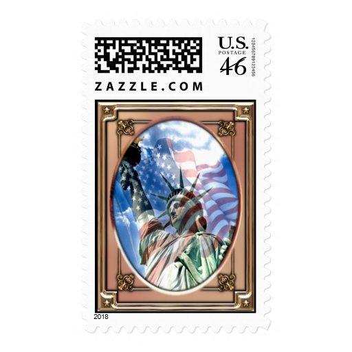 Liberty Postage Stamp