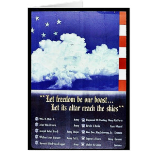 Liberty Preserve This Heritage Greeting Card