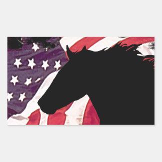 Liberty Rectangular Sticker