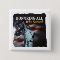 Liberty Remembered Veterans Day Buttons
