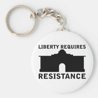 Liberty Requires Resistance Basic Round Button Keychain