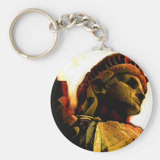 liberty rusted keychains