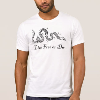 Liberty Series - Live Free or Die T-Shirt