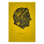 LIBERTY SERIES - Ron Paul Abstract Thought Poster