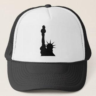 Liberty shadow trucker hat