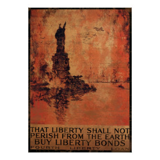 Liberty Shall Not Perish From The Earth 1 Poster