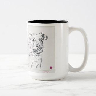 Liberty shelter dog mug