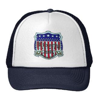 Liberty shield. trucker hat