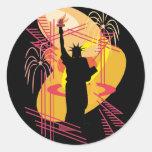 Liberty Silhouette Sticker