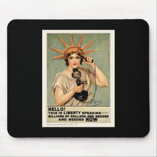 Liberty speaking billions of dollars are needed mouse pad