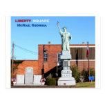 LIBERTY SQUARE - McRae, Georgia Postcard