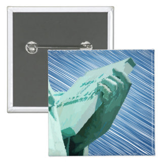 Liberty Squared Pinback Buttons