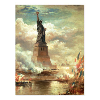 Liberty Standing Tall Postcard