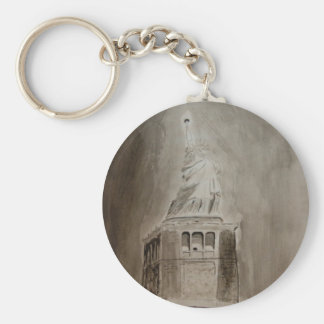 liberty stands tall keychain