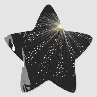 Liberty Star Sticker
