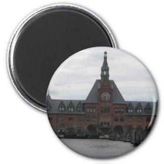 Liberty State Park Station Fridge Magnets
