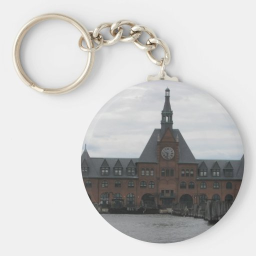 Liberty State Park Station Keychain