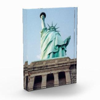 liberty statue acrylic award