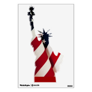 LIBERTY STATUE WALL DECAL
