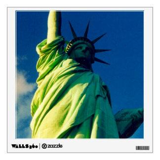 liberty statue wall sticker