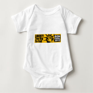 Liberty: Too BIG to Fail! Baby Bodysuit