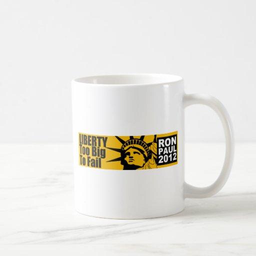 Liberty: Too BIG to Fail! Mugs