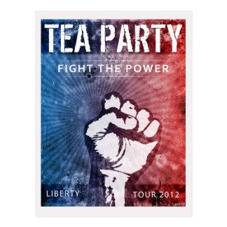 Liberty Tour Postcard