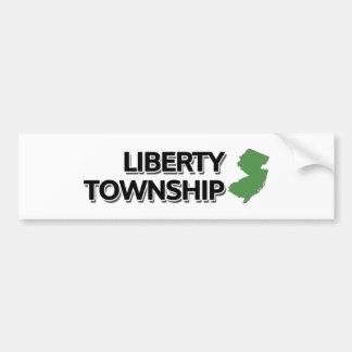Liberty Township, New Jersey Bumper Sticker