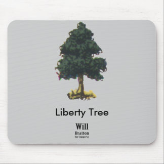 Liberty Tree, Will Bratton for Congress Mouse Mats