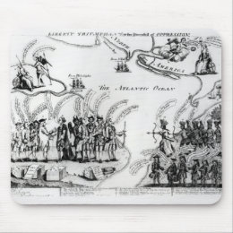 Liberty Triumphant, or the Downfall Mouse Pad
