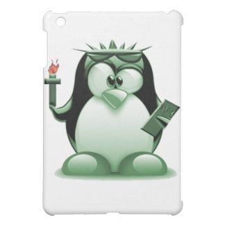 Liberty Tux (Linux Tux) iPad Mini Cases