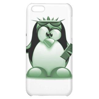 Liberty Tux (Linux Tux) iPhone 5C Cases