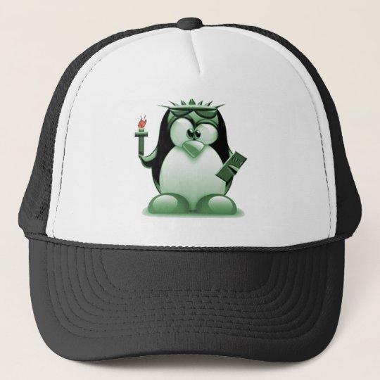 Liberty Tux (Linux Tux) Trucker Hat