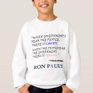 Liberty Tyranny Ron Paul 12.png Sweatshirt