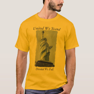 liberty, United We Stand, Divided We Fall T-Shirt