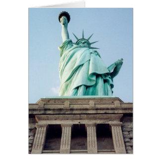liberty up greeting card