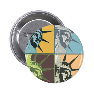 Liberty USA Pinback Button