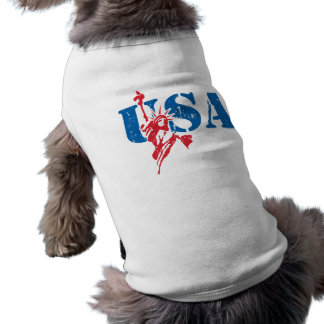 Liberty USA Dog T-shirt