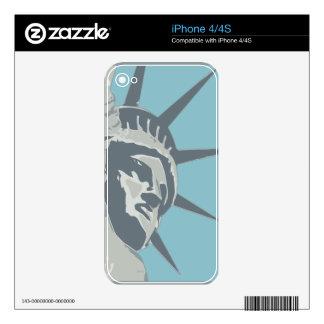Liberty USA iPhone 4S Skin