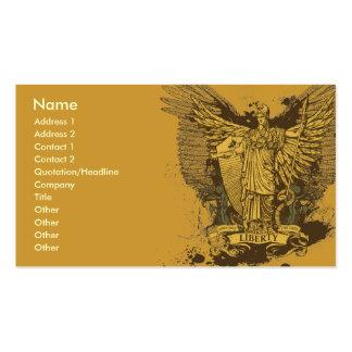 Liberty Voter Libertas Cards Business Card