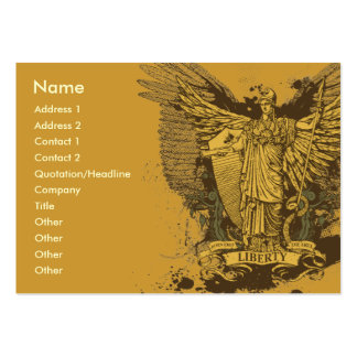 Liberty Voter Libertas Cards Large Business Cards (Pack Of 100)