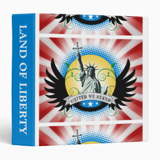 Liberty Wings 3 Ring Binder