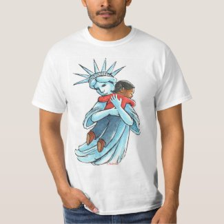 Liberty with Child T-Shirt