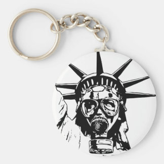LIBERTY with Gas Mask Keychain