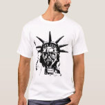 LIBERTY with Gas Mask T-Shirt