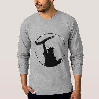 Liberty with Shotgun T Shirt