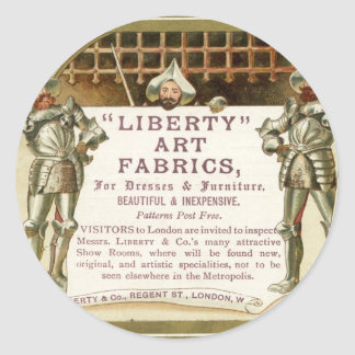 Liberty Yeomen of the Guard Classic Round Sticker