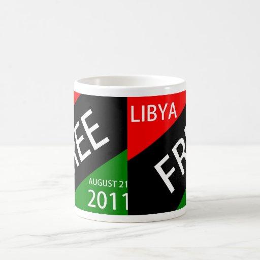 LIBIA LIBERA EL 21 DE AGOSTO DE 2011 TAZA CLÁSICA